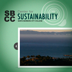 SBCC - Center for Sustainability web site thumbnail